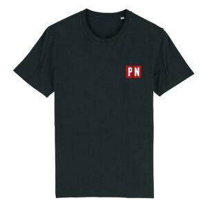 PN T-shirt Sort