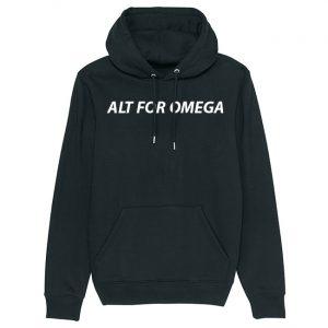 Alt For Omega - Sort hoodie